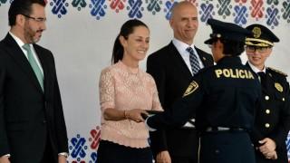 Refuerza el Gobierno de la Ciudad de México tareas de seguridad y prevención con mil 057 nuevos policías
