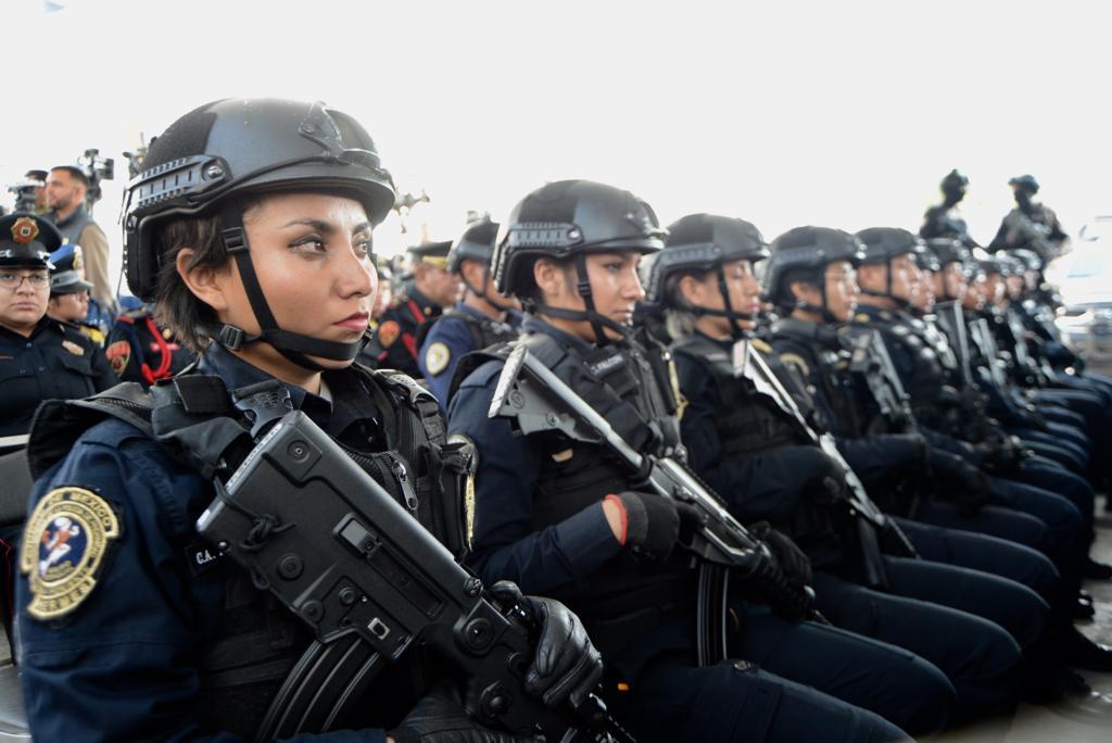 Presenta Gobierno de la Ciudad de México Comando de Operaciones Especiales  y la Unidad Táctica de Auxilio a la Población